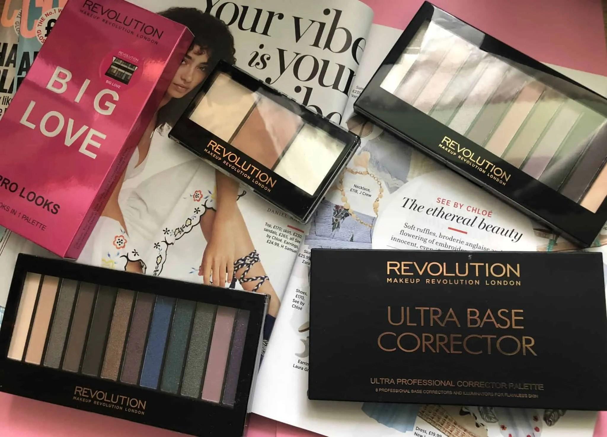 Makeup Revolution cosmetics massive makeup palette competition