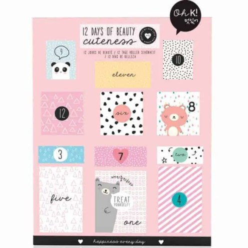the best value beauty advent calendars £50 or under oh k beauty advent calendar