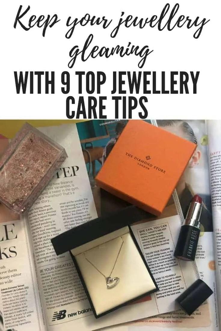 9 top jewellery care tips