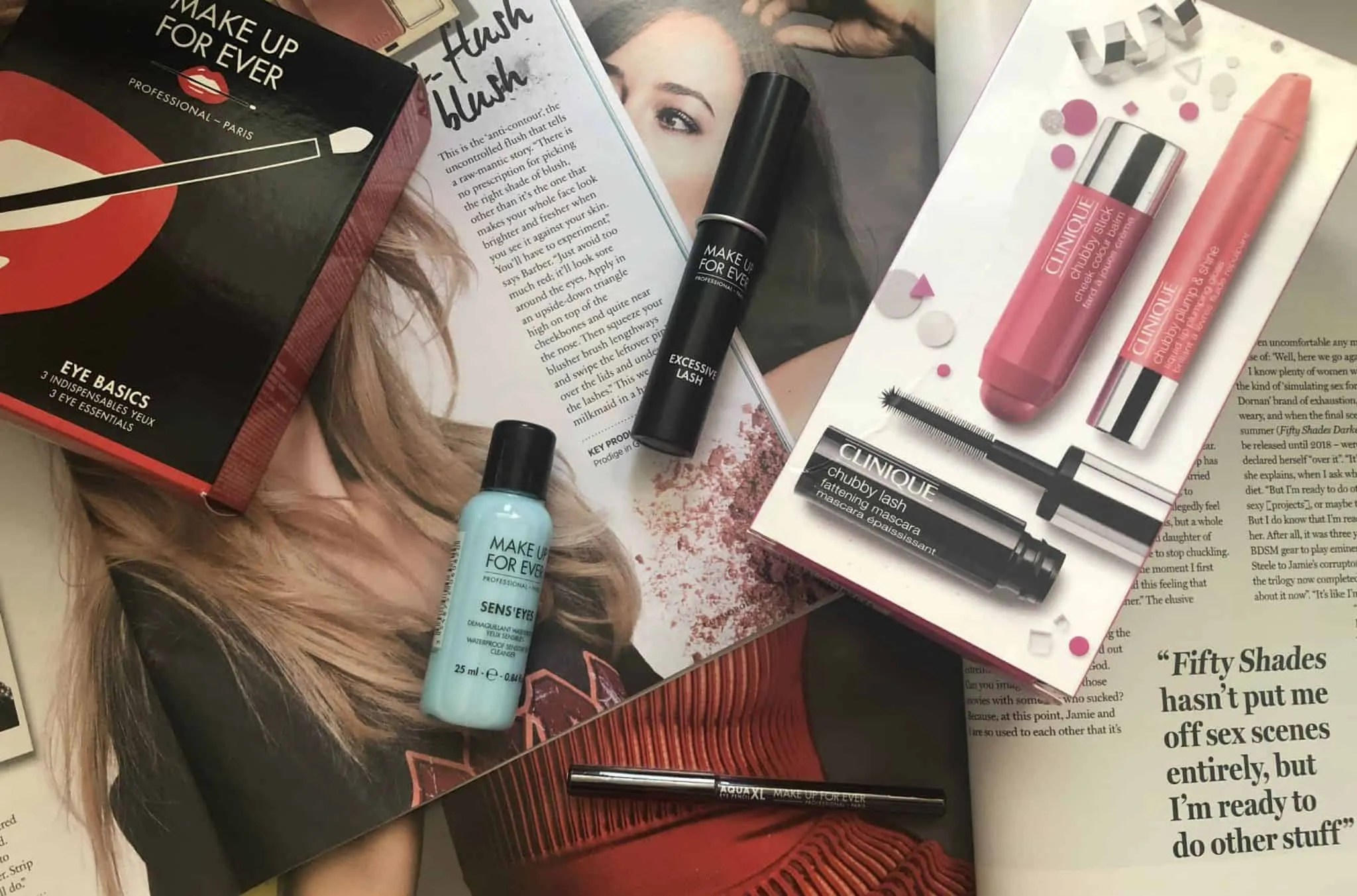 Win a fabulous Makeup Forever and Clinique makeup set