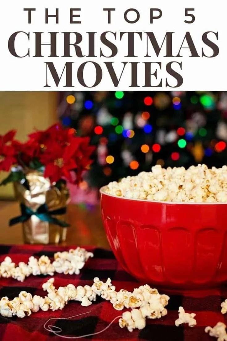 the top 5 christmas movies
