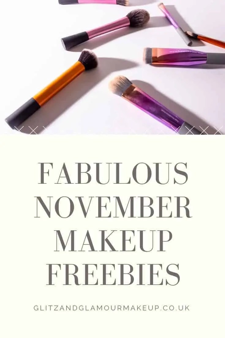 fabulous november makeup freebies