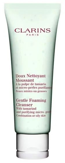 ultimate skincare products for oily skin clarins gentle foaming cleanser