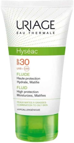ultimate skincare products for oily skin uriage hyseac high protection emulsion