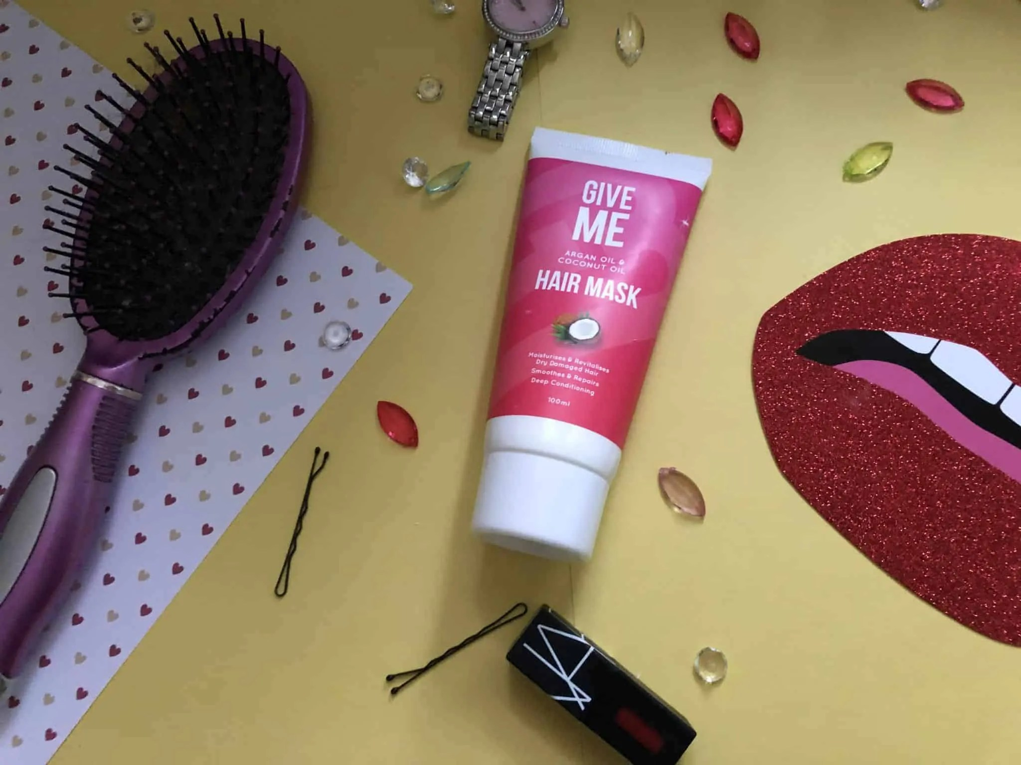 Give Me Argan oil and coconut oil hair mask review