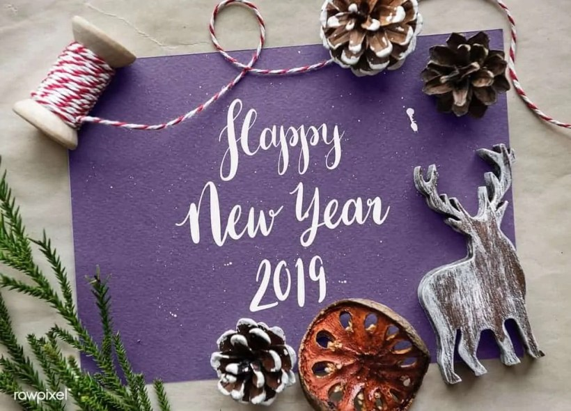 New years resolution ideas and aims for 2019 1