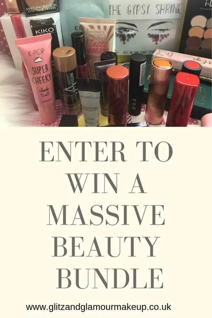 enter to win a massive beauty bundle