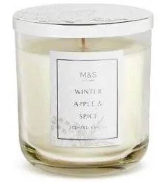 the best winter candles to give your home a cosy feel marks and spencer winter apple and spices candle