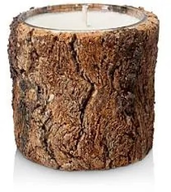 the best winter candles to give your home a cosy feel the woods bark candle