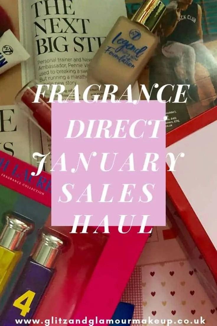 fragrance direct january sales beauty haul