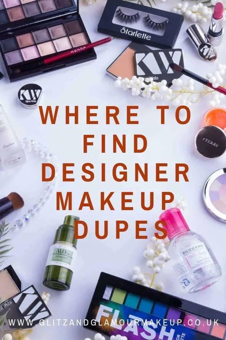 where to find designer makeup dupes