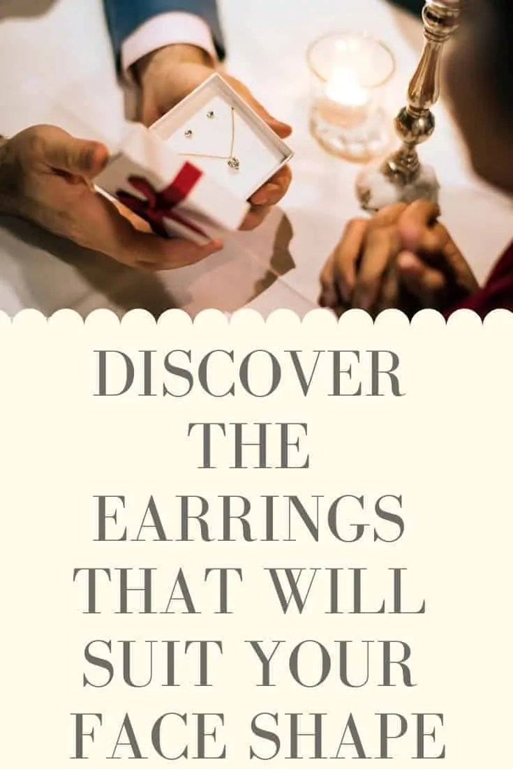discover the earrings that will suit your face shape