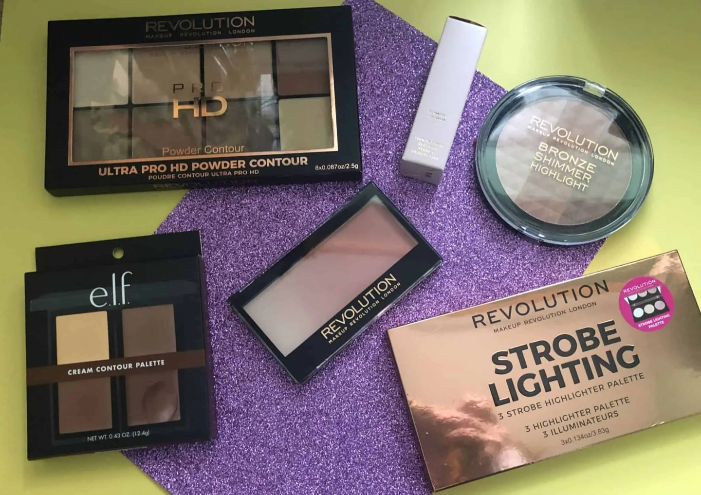 Enter to win a contour makeup and highlighter beauty bundle
