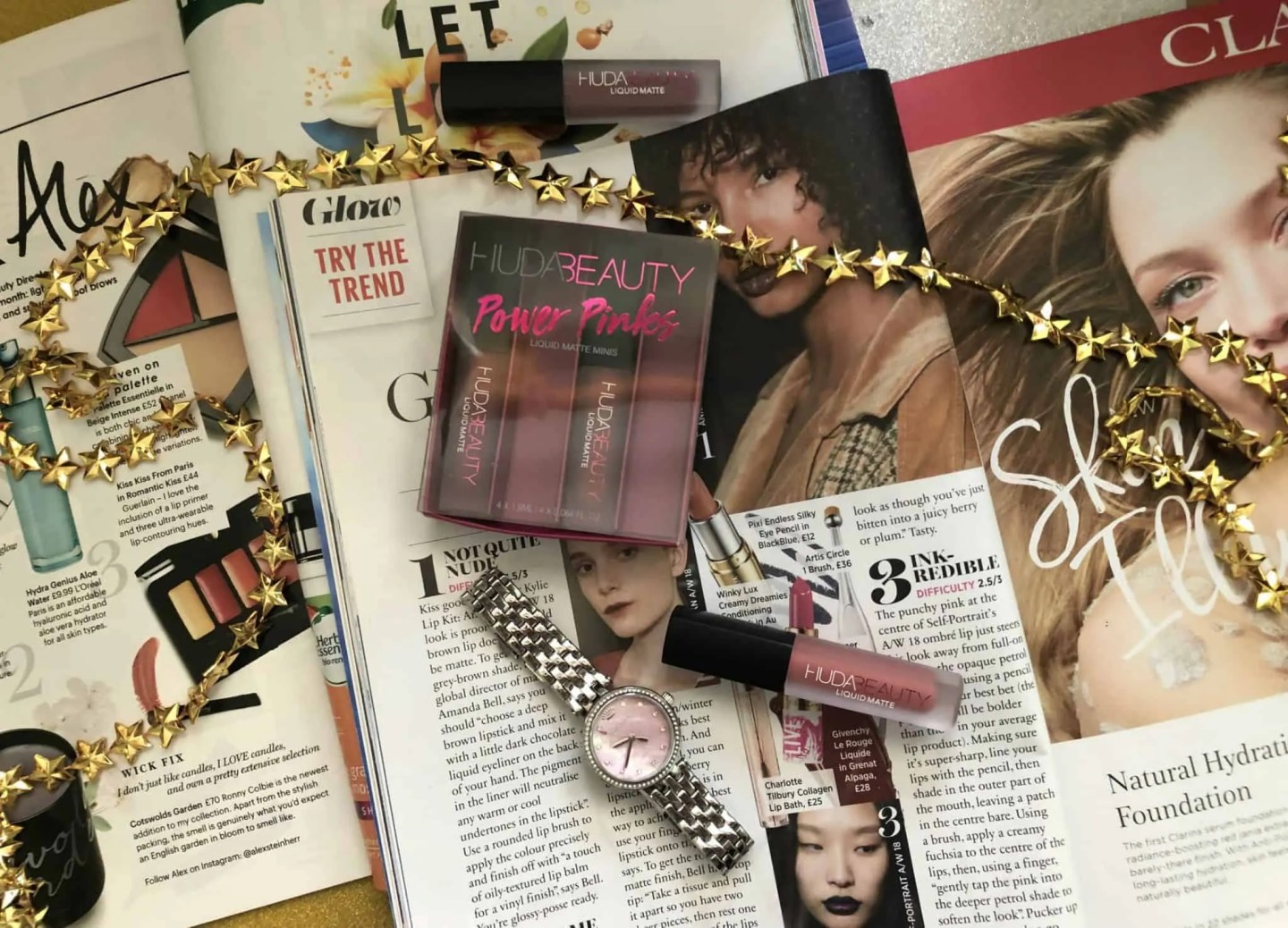 Huda beauty power pinks review