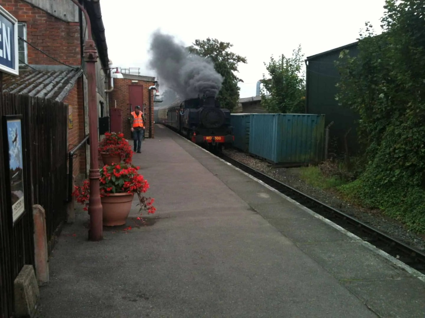 go back to the heyday of rail at kent and east sussex railway 1