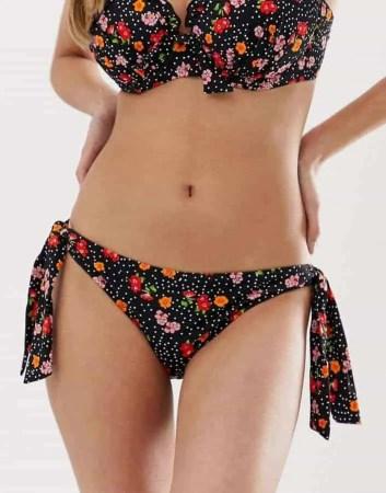 pour moi floral bikini