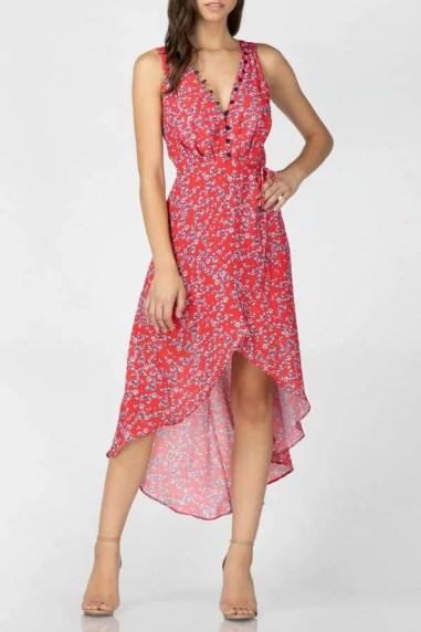 adelyn rae summer wrap dress