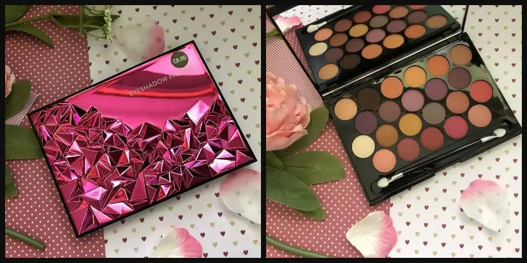 Celebrate Glitz and Glamour Makeup 10th birthday with a competition primark jewelled palette