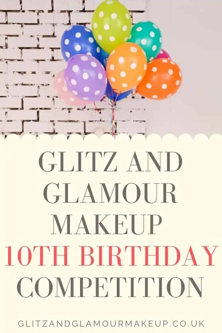 celebrate glitz and glamour makeup 10th birthday