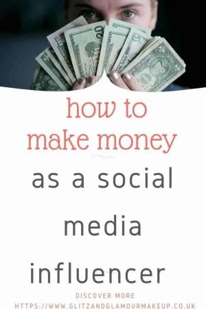 how to make money as social media influencers