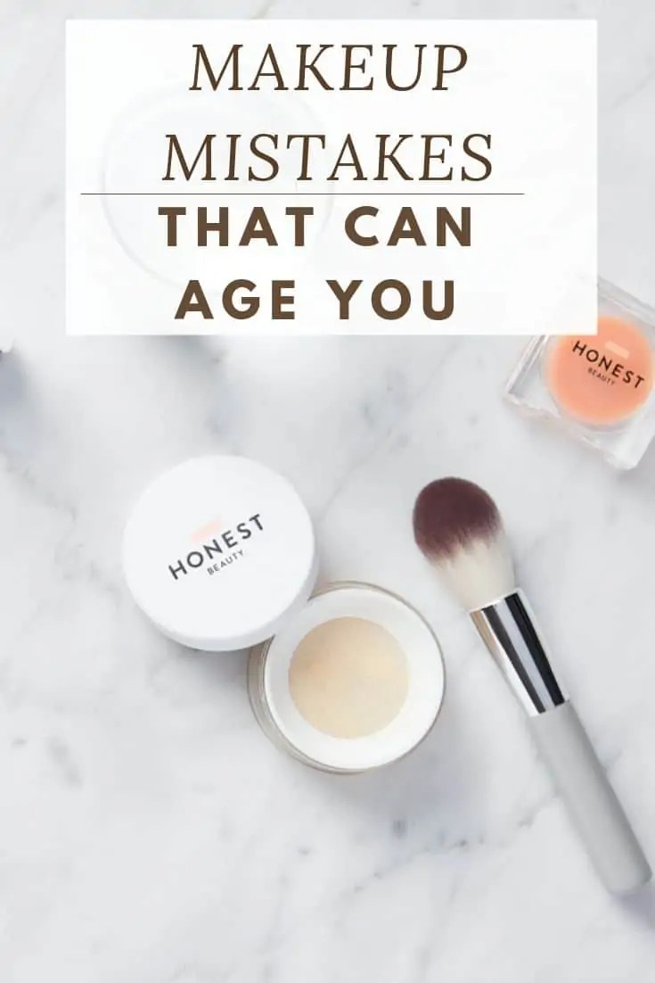 MAKEUP MISTAKES THAT CAN AGE YOU