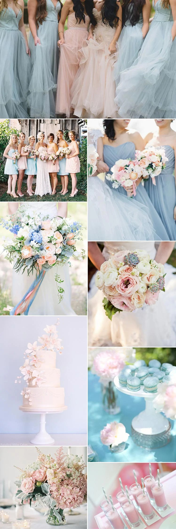 pink and blue wedding | Invitationjdi.co