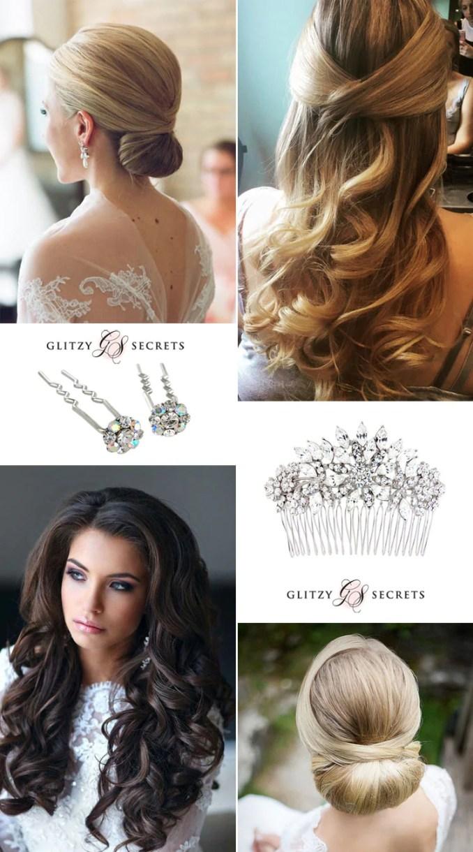 bridal hairstyles: classic or modern? - glitzy secrets