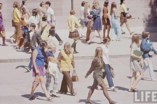 High School Fashion In 1969