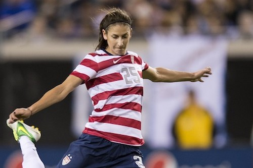Young Soccer Player Yael Averbuch