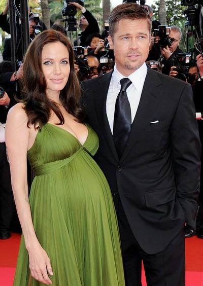 Pregnant Angelina