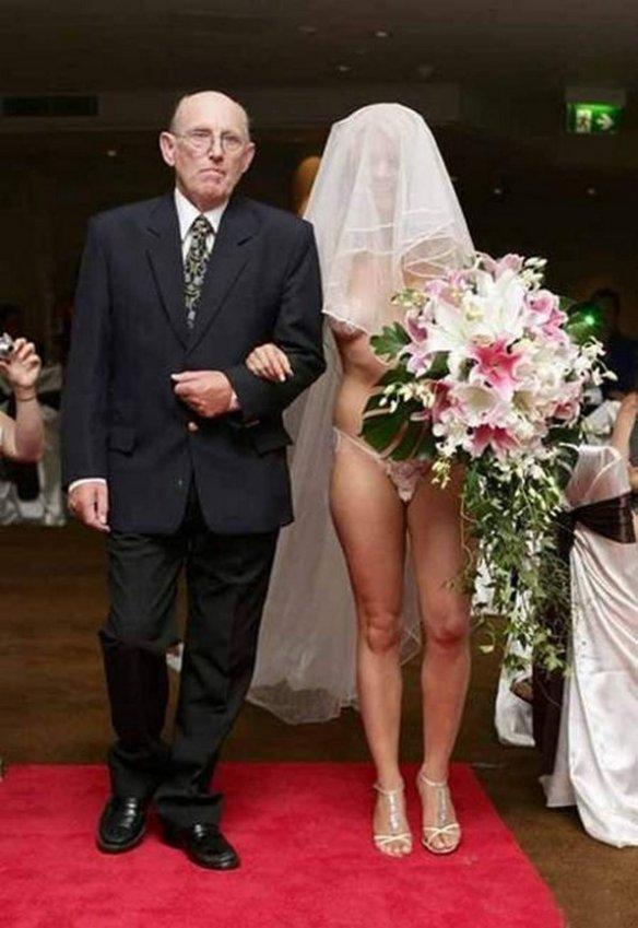 totally bizarre wedding
