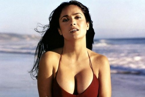 Salma Hayek Breast Implants Hot