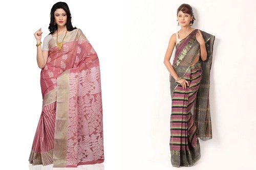 Cotton Tant Traditional Saree Styles