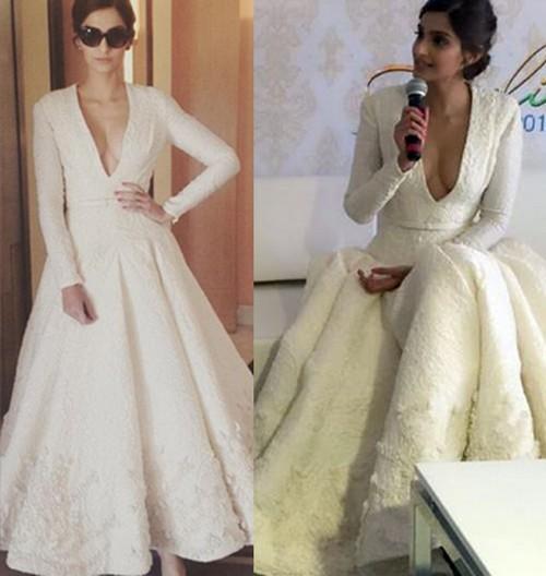 Sonam Kapoor Dresses at Cannes 2015.