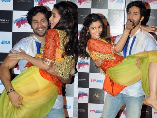 Alia Bhatt and Varun Dhawan