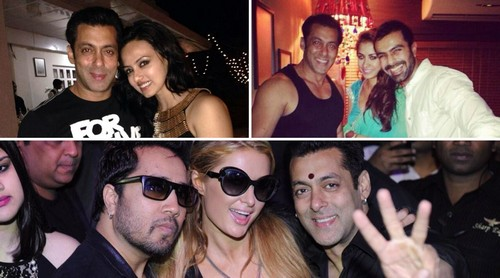 Hottest Party Animals In Bollywood Salman Khan