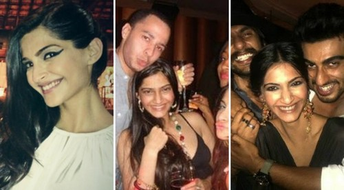Hottest Party Animals In Bollywood Sonam Kapoor