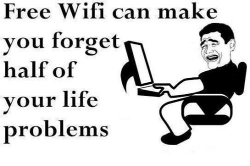 Find free wifi spots worldwide