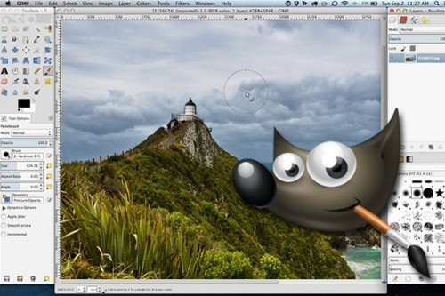 Retouch your photos with GIMP