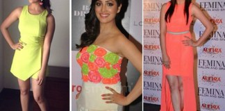 Bollywood Actresses In Neon