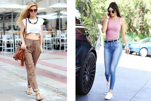 3b135c327cb You can wear your high waist jeans with casual fitted tank top by tucking  it inside. This is ideal for everyday casual look. You can also accessorize  it ...