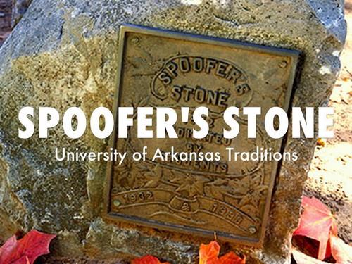 Spoofer's Stone, University of Arkansas