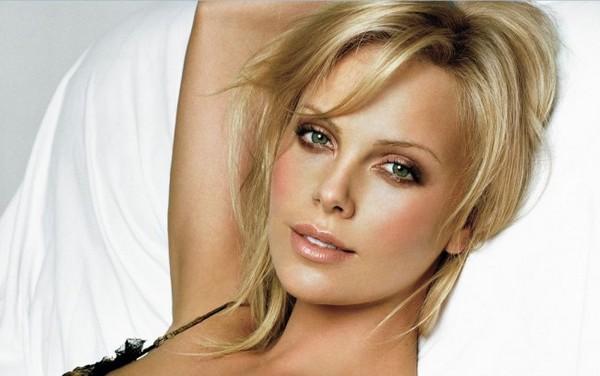 Charlize Theron Beautiful Eyes