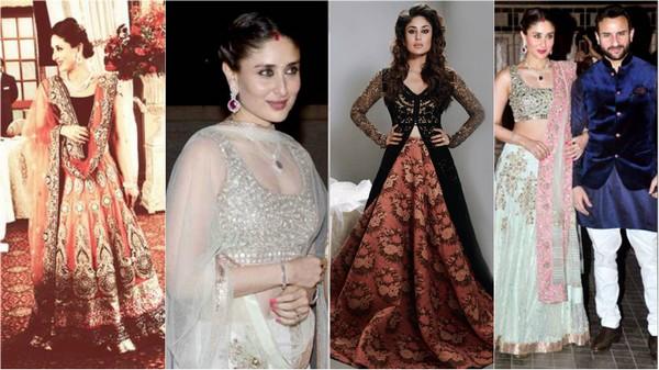 Kareena Kapoor in Lahenga Cholia