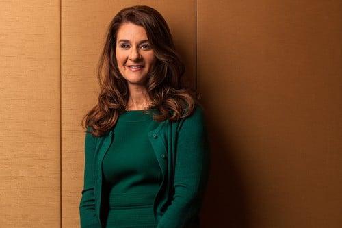 Powerful Lady Melinda Gates