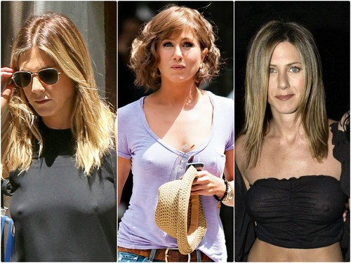 Jennifer Aniston Spotted in NO UNDERWEAR