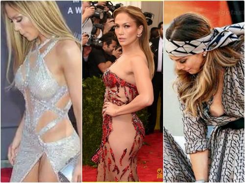 Jennifer Lopez Spotted in NO UNDERWEAR