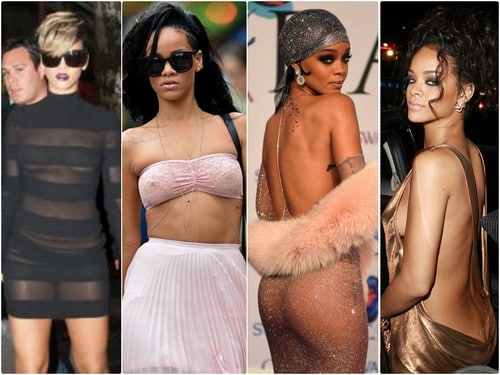 Rihanna Spotted in NO UNDERWEAR