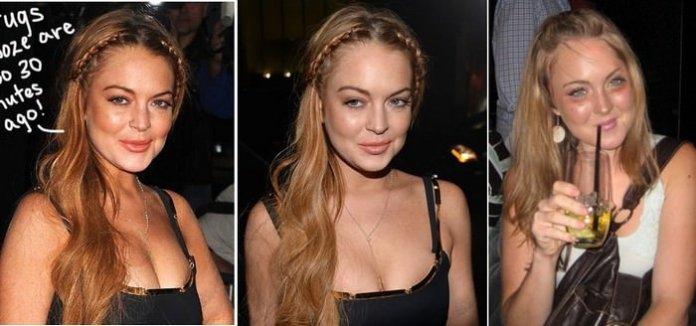 Lindsay Lohan Alcohol, Drug Addiction