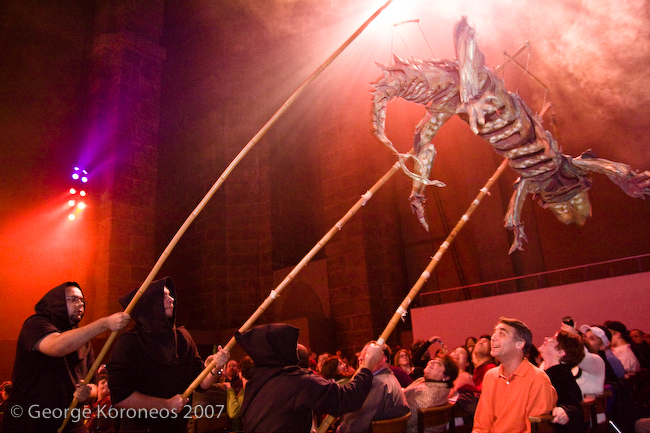 Procession of the Ghouls {St. John The Divine Halloween Photos}